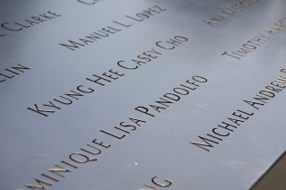 Namen slachtoffers 9/11 Memorial