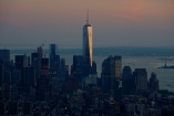 Freedomtower sunset
