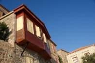 Karakteristieke bouw Molyvos